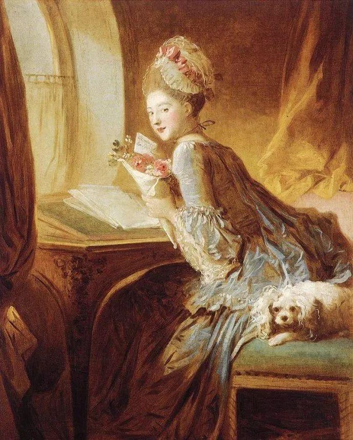 法国肖像艺术真正先驱者弗拉戈纳尔(1732-1806)插图4