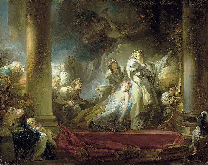 法国肖像艺术真正先驱者弗拉戈纳尔(1732-1806)插图6