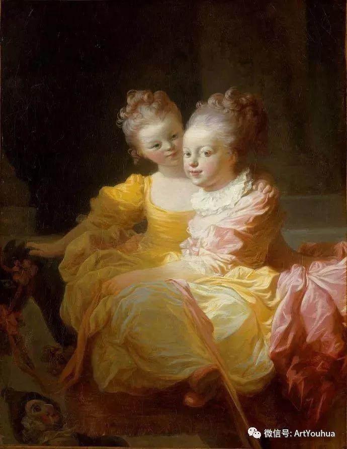 法国肖像艺术真正先驱者弗拉戈纳尔(1732-1806)插图9