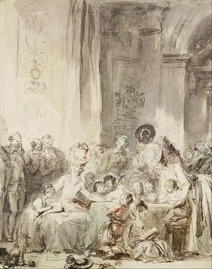 法国肖像艺术真正先驱者弗拉戈纳尔(1732-1806)插图10