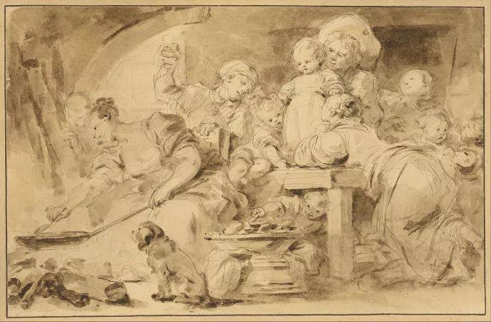 法国肖像艺术真正先驱者弗拉戈纳尔(1732-1806)插图11