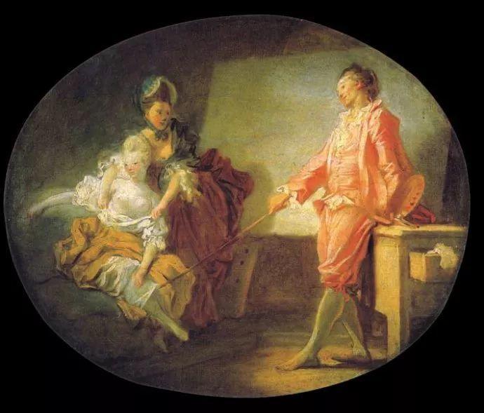 法国肖像艺术真正先驱者弗拉戈纳尔(1732-1806)插图16