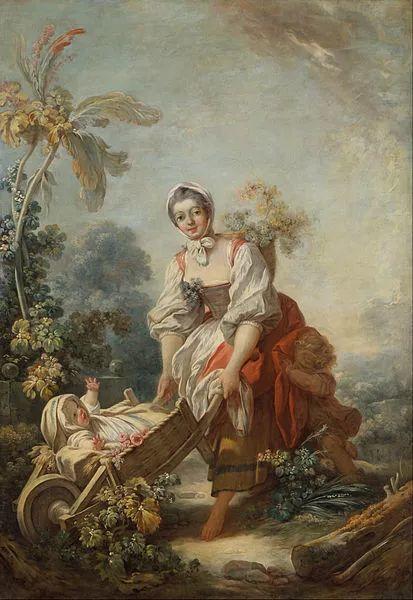 法国肖像艺术真正先驱者弗拉戈纳尔(1732-1806)插图17