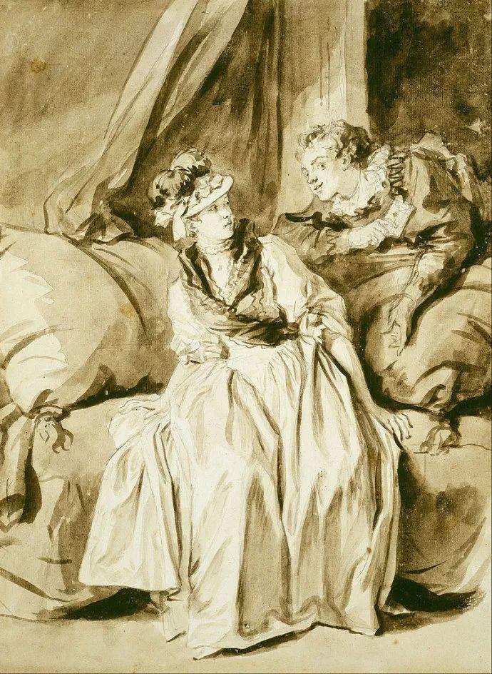 法国肖像艺术真正先驱者弗拉戈纳尔(1732-1806)插图34