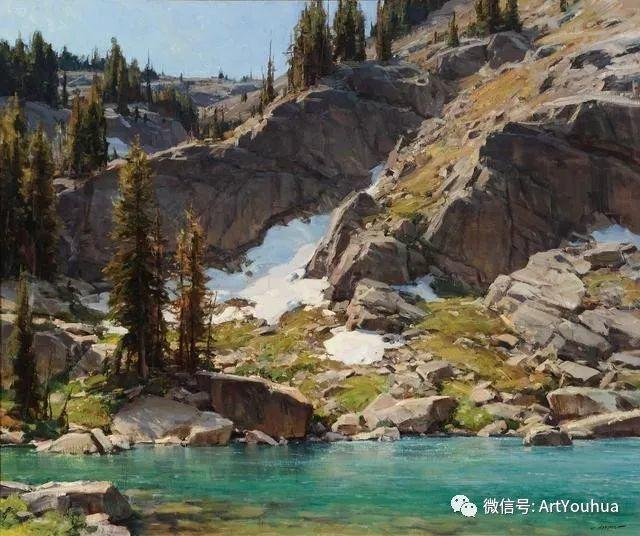 旷野风景画 美国Clyde Aspevig作品欣赏插图3
