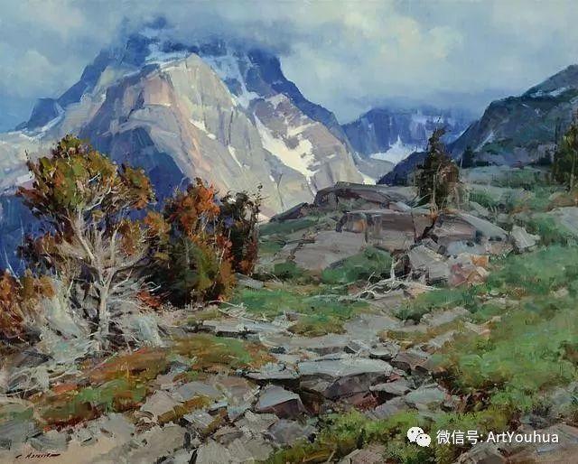 旷野风景画 美国Clyde Aspevig作品欣赏插图5