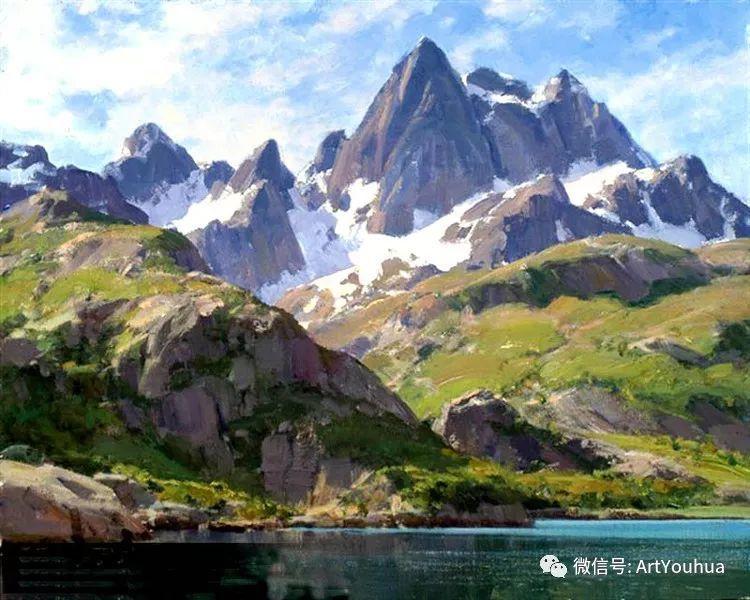 旷野风景画 美国Clyde Aspevig作品欣赏插图7