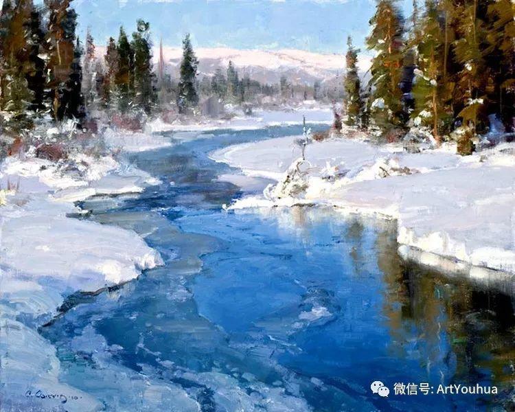 旷野风景画 美国Clyde Aspevig作品欣赏插图9