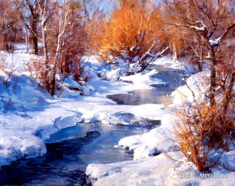 旷野风景画 美国Clyde Aspevig作品欣赏插图15