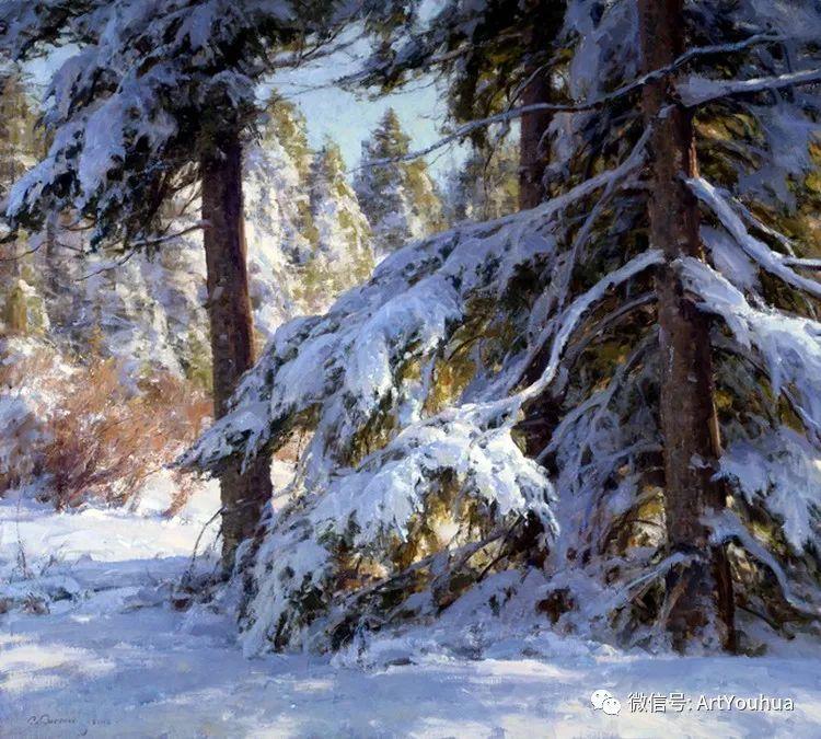 旷野风景画 美国Clyde Aspevig作品欣赏插图17