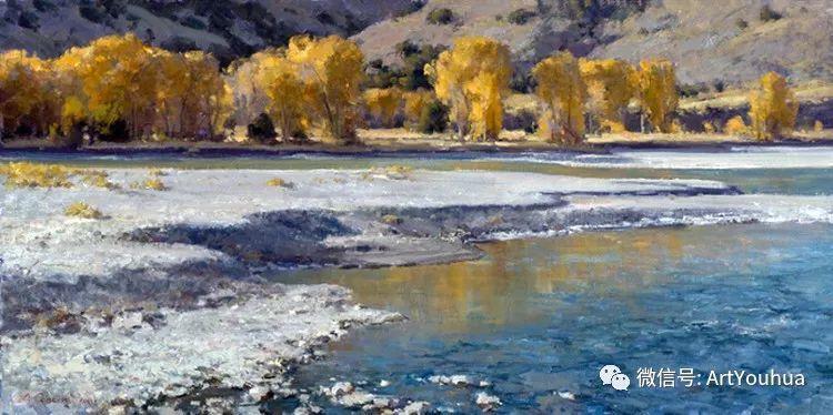 旷野风景画 美国Clyde Aspevig作品欣赏插图21
