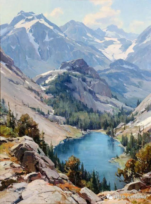 旷野风景画 美国Clyde Aspevig作品欣赏插图25