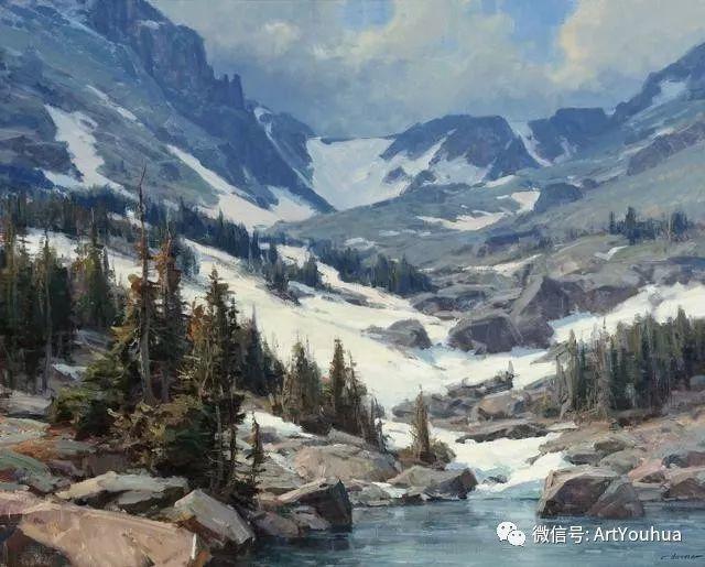 旷野风景画 美国Clyde Aspevig作品欣赏插图29
