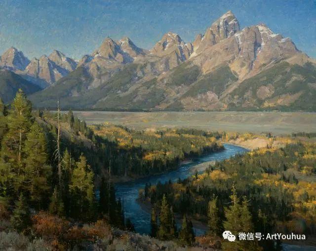 旷野风景画 美国Clyde Aspevig作品欣赏插图31