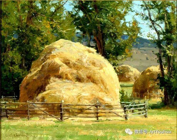 旷野风景画 美国Clyde Aspevig作品欣赏插图33