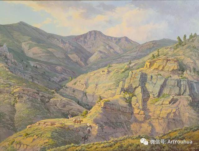 旷野风景画 美国Clyde Aspevig作品欣赏插图41