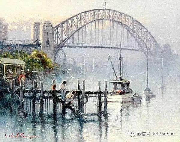 新西兰Ramon Ward Thompson绘画作品插图33