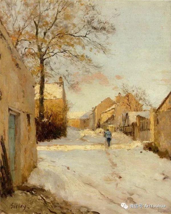 风景画 美国画家Hugh Bolton Jones(1848-1927)插图3