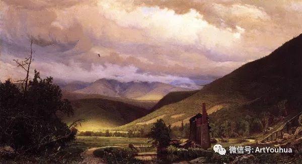 风景画 美国画家Hugh Bolton Jones(1848-1927)插图9