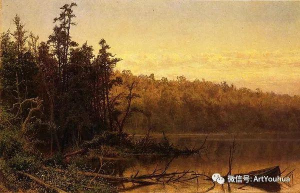 风景画 美国画家Hugh Bolton Jones(1848-1927)插图13