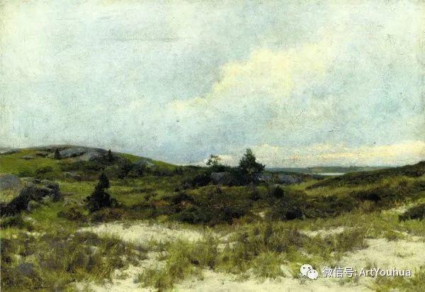 风景画 美国画家Hugh Bolton Jones(1848-1927)插图21