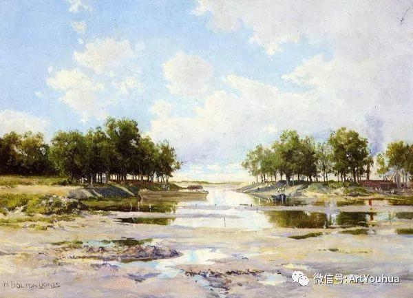 风景画 美国画家Hugh Bolton Jones(1848-1927)插图33