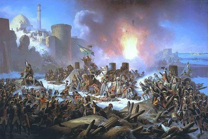 军事题材作品 波兰画家苏霍多尔斯基(1797-1875)插图1