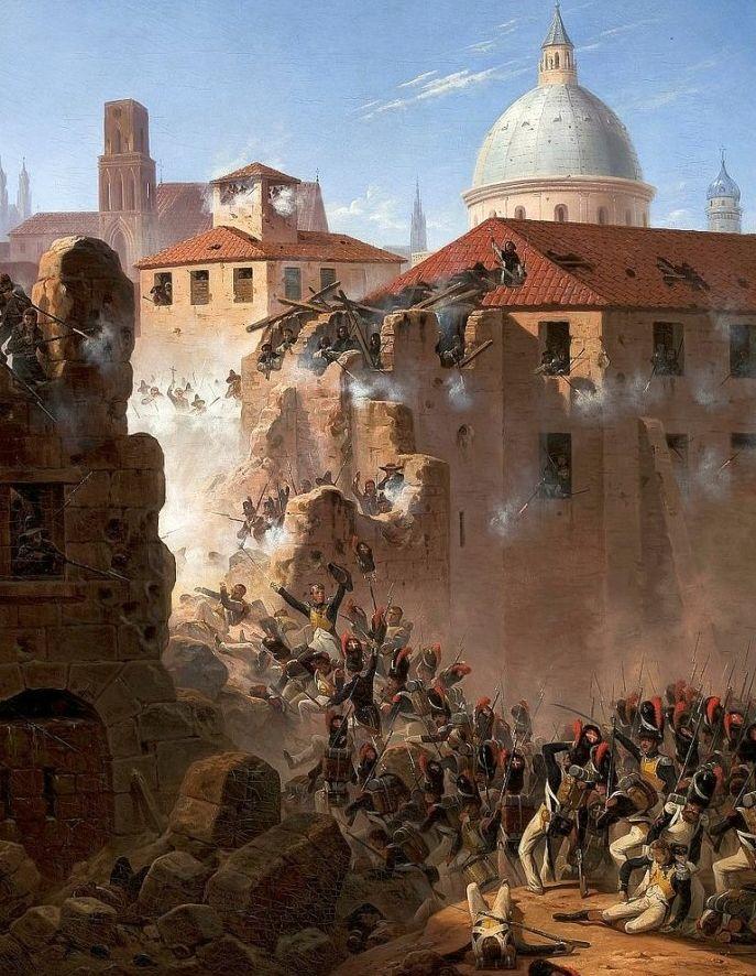 军事题材作品 波兰画家苏霍多尔斯基(1797-1875)插图3