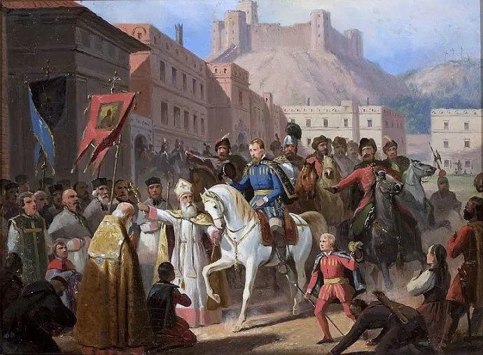 军事题材作品 波兰画家苏霍多尔斯基(1797-1875)插图7