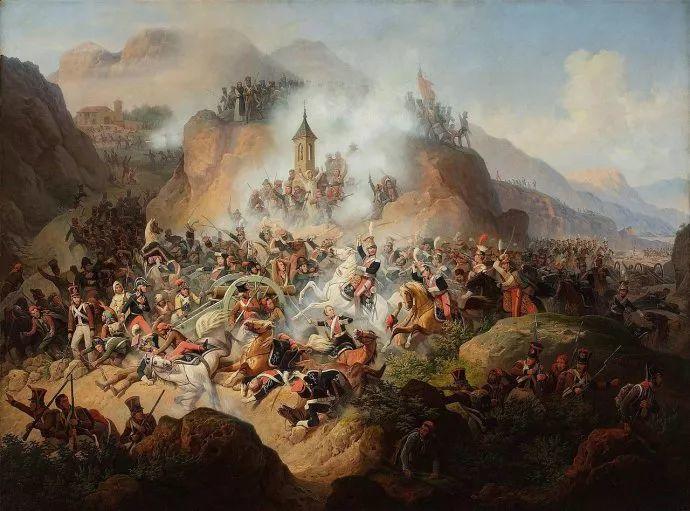 军事题材作品 波兰画家苏霍多尔斯基(1797-1875)插图9