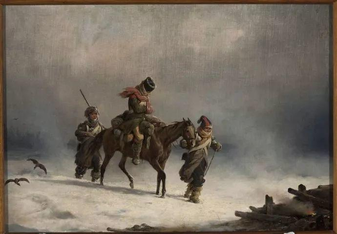 军事题材作品 波兰画家苏霍多尔斯基(1797-1875)插图13