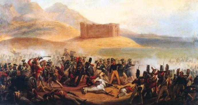 军事题材作品 波兰画家苏霍多尔斯基(1797-1875)插图17