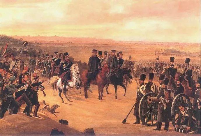 军事题材作品 波兰画家苏霍多尔斯基(1797-1875)插图25