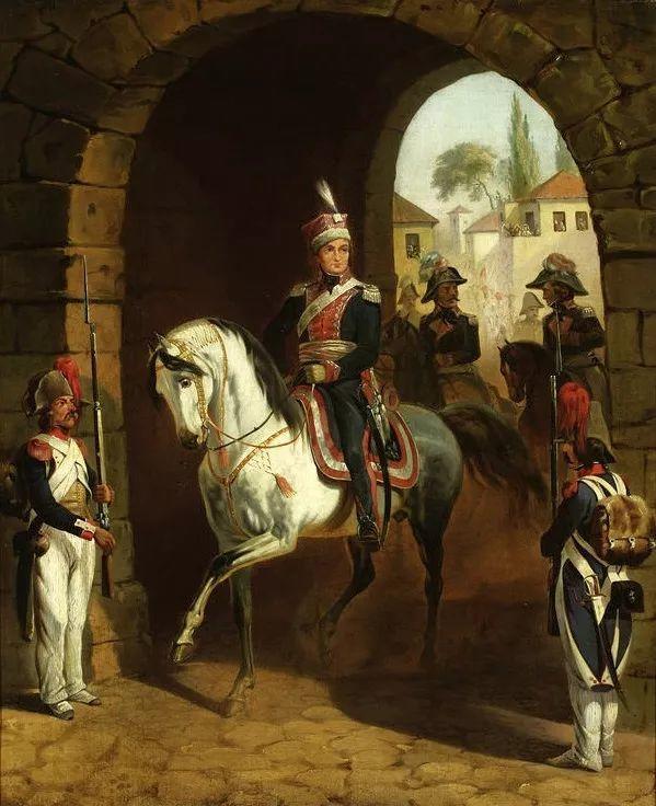 军事题材作品 波兰画家苏霍多尔斯基(1797-1875)插图27