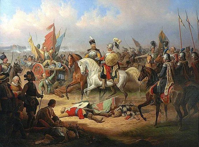 军事题材作品 波兰画家苏霍多尔斯基(1797-1875)插图31