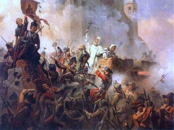 军事题材作品 波兰画家苏霍多尔斯基(1797-1875)插图33