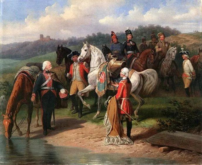 军事题材作品 波兰画家苏霍多尔斯基(1797-1875)插图35