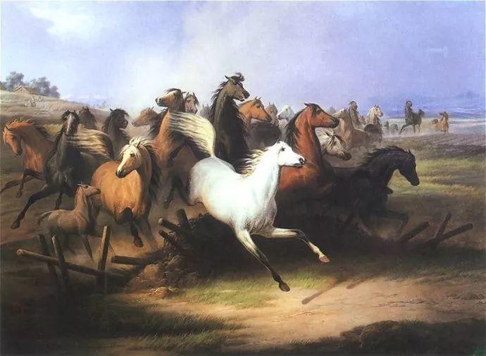 军事题材作品 波兰画家苏霍多尔斯基(1797-1875)插图37