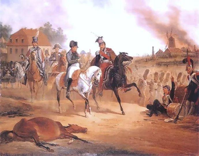 军事题材作品 波兰画家苏霍多尔斯基(1797-1875)插图41