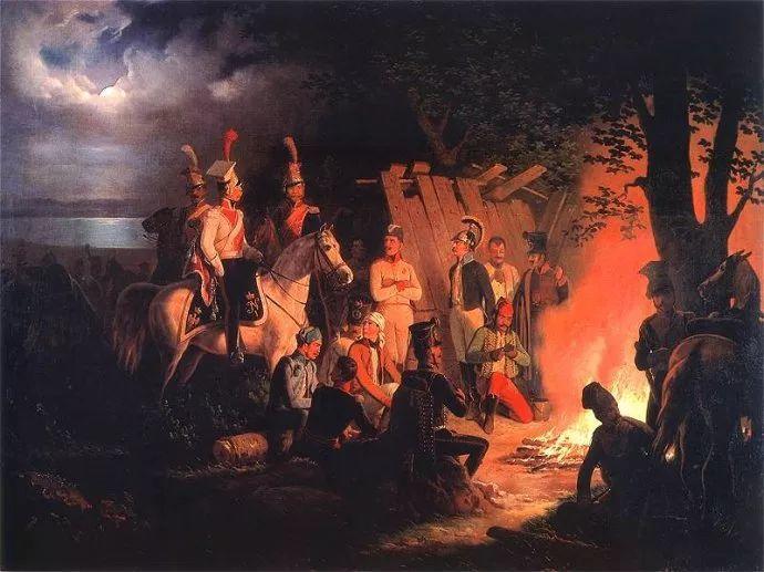 军事题材作品 波兰画家苏霍多尔斯基(1797-1875)插图47
