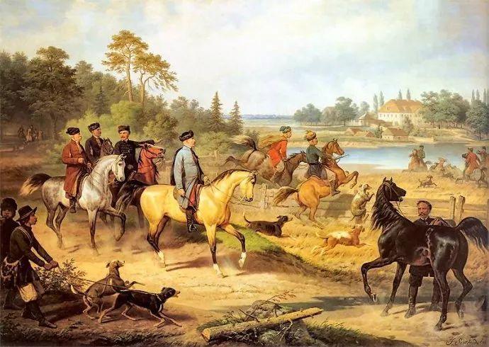 军事题材作品 波兰画家苏霍多尔斯基(1797-1875)插图49
