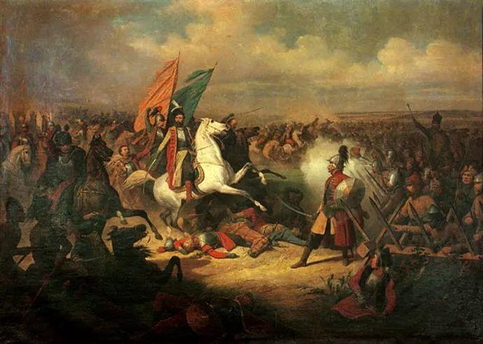军事题材作品 波兰画家苏霍多尔斯基(1797-1875)插图51