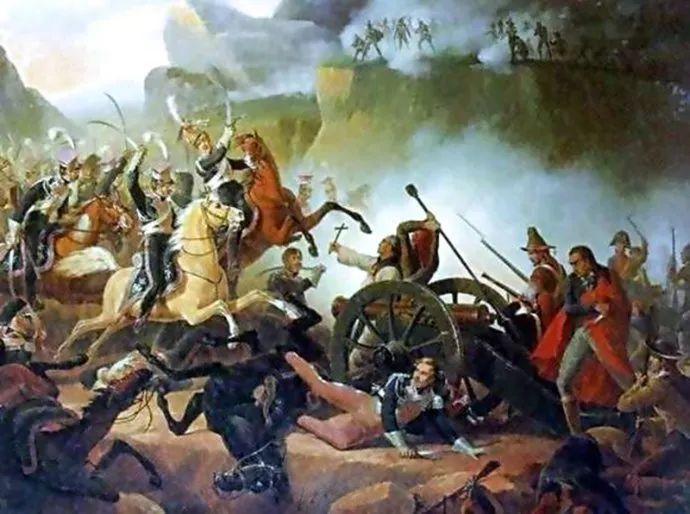 军事题材作品 波兰画家苏霍多尔斯基(1797-1875)插图53