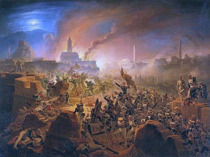 军事题材作品 波兰画家苏霍多尔斯基(1797-1875)插图57