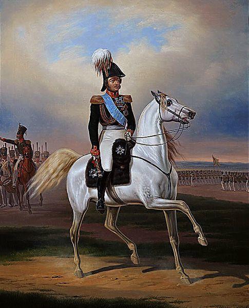 军事题材作品 波兰画家苏霍多尔斯基(1797-1875)插图61