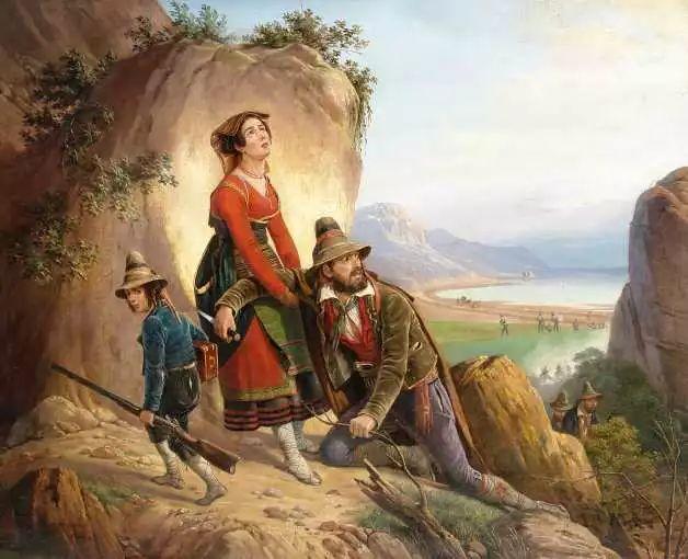 军事题材作品 波兰画家苏霍多尔斯基(1797-1875)插图63