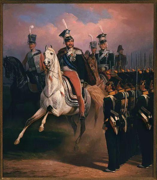 军事题材作品 波兰画家苏霍多尔斯基(1797-1875)插图65