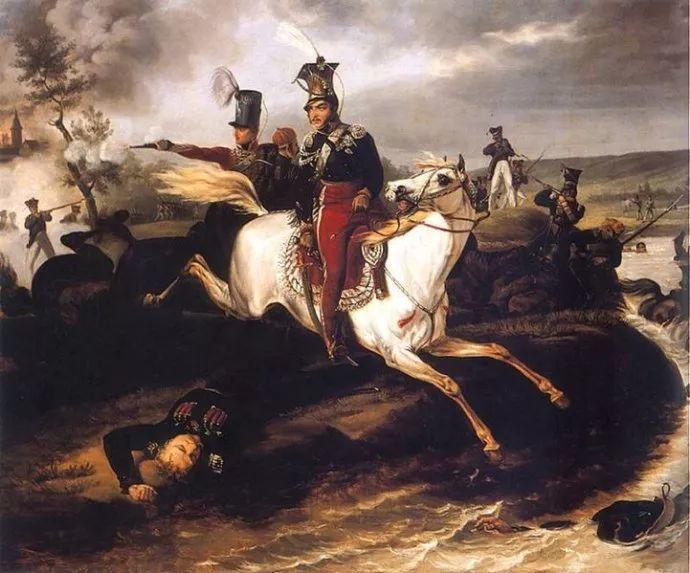 军事题材作品 波兰画家苏霍多尔斯基(1797-1875)插图67