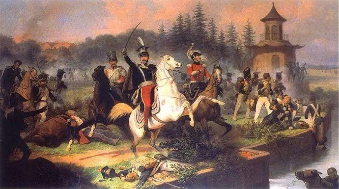 军事题材作品 波兰画家苏霍多尔斯基(1797-1875)插图69