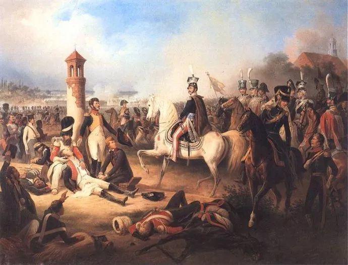 军事题材作品 波兰画家苏霍多尔斯基(1797-1875)插图71